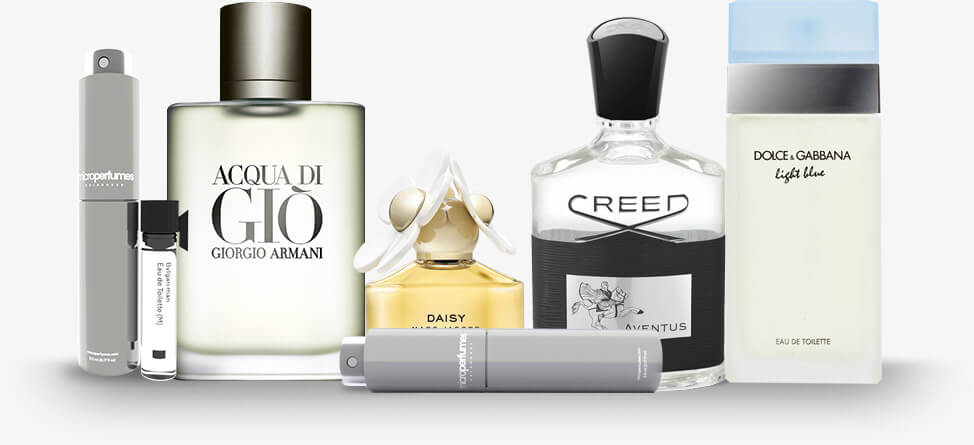 Authentic brand name fragrances for as low as 99 cents. Save 80% of retail price